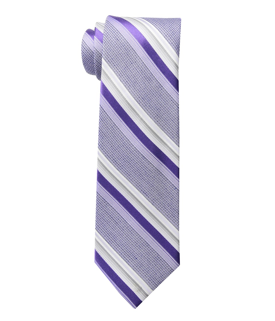 Calvin Klein - Indy Tex Stripe (Purple) Ties