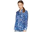 LAUREN Ralph Lauren Petite Paisley Silk-Blend Shirt