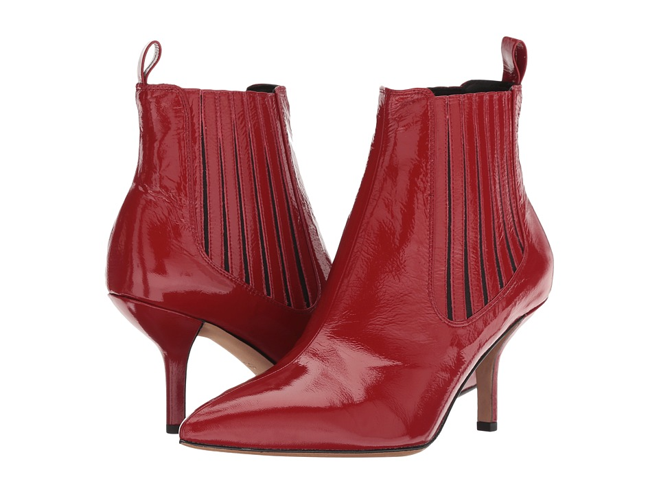 Diane von Furstenberg Mollo-5 (Cherry) Women's Shoes