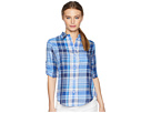 LAUREN Ralph Lauren LAUREN Ralph Lauren Petite Plaid Cotton Twill Shirt