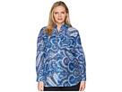 LAUREN Ralph Lauren Plus Size Paisley Silk-Blend Shirt