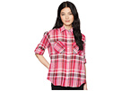 LAUREN Ralph Lauren LAUREN Ralph Lauren Petite Plaid Cotton Long Sleeve Shirt