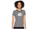LAUREN Ralph Lauren Monogram Striped T-Shirt