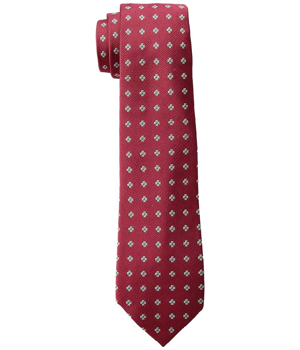 LAUREN Ralph Lauren - Cross Neat Tie (Red) Ties