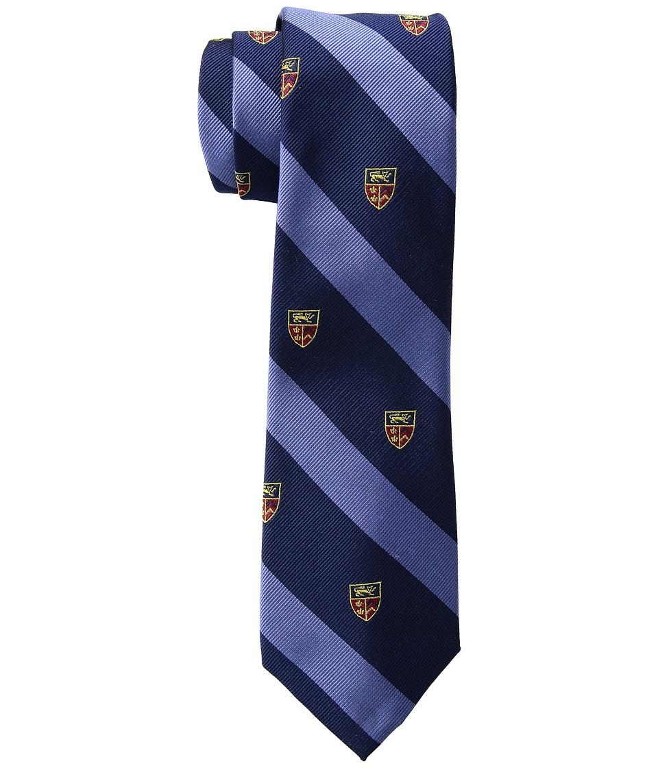 LAUREN Ralph Lauren - Heraldic Club Tie (Blue/Navy) Ties
