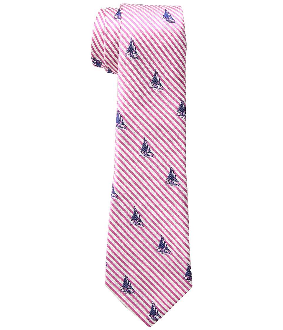 LAUREN Ralph Lauren - Seersucker Sail Tie (Pink) Ties