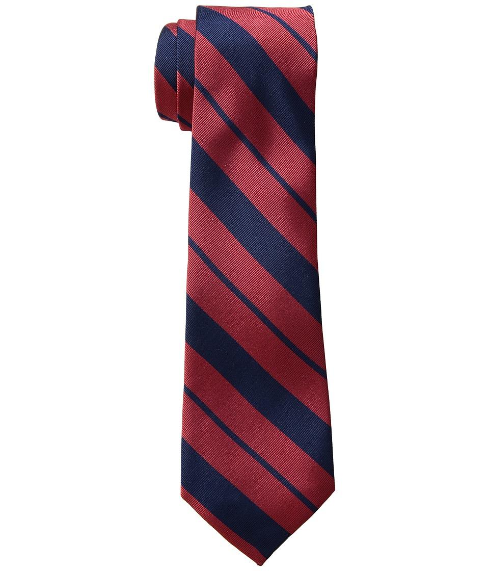 LAUREN Ralph Lauren - Americana Stripe Tie (Red/Navy) Ties
