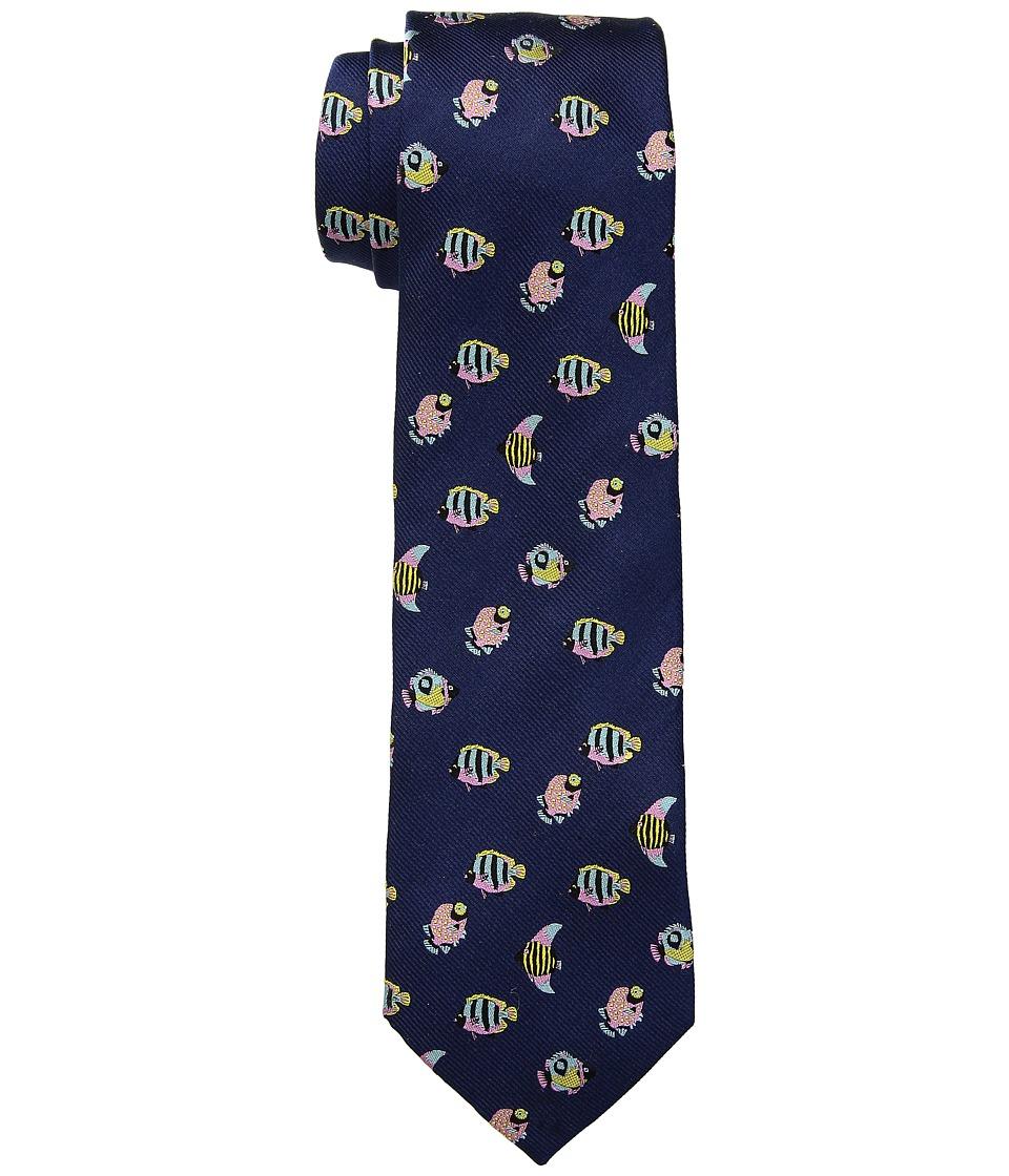 LAUREN Ralph Lauren - Fish Tie (Navy) Ties