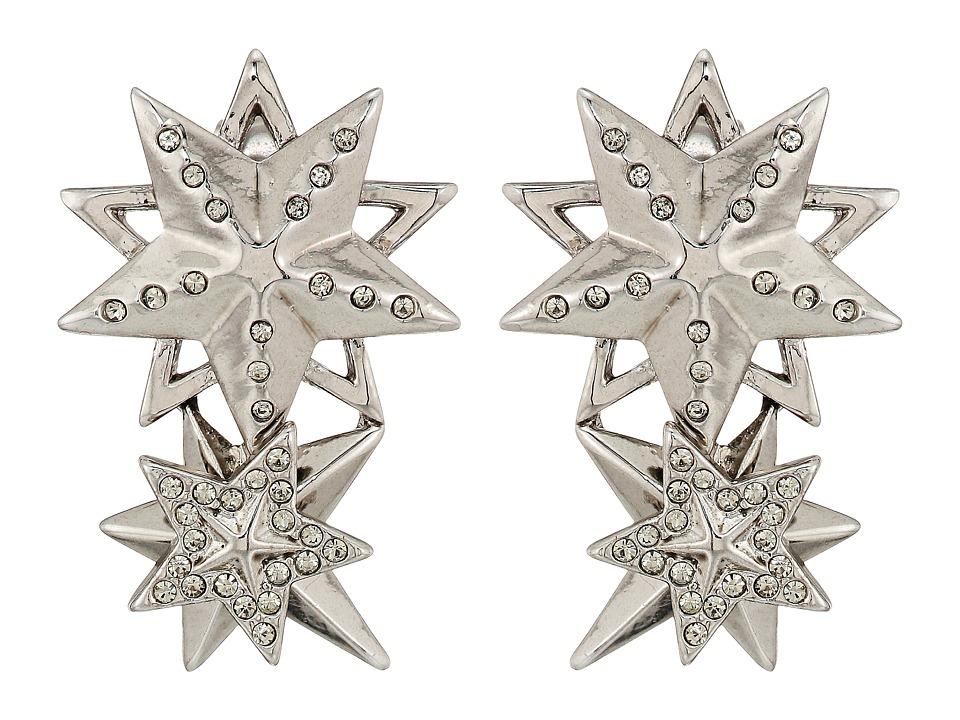 House of Harlow 1960 - Star Cluster Earrings (Silver) Earring