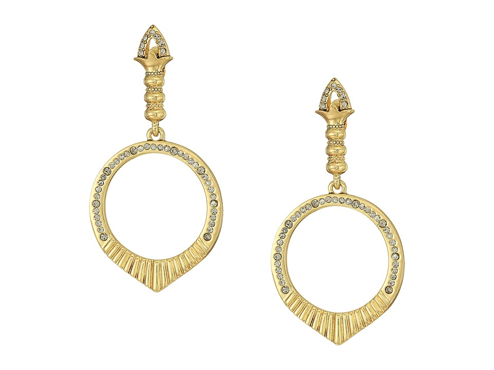 House of Harlow 1960 - Luna Stone Earrings (Gold) Earring