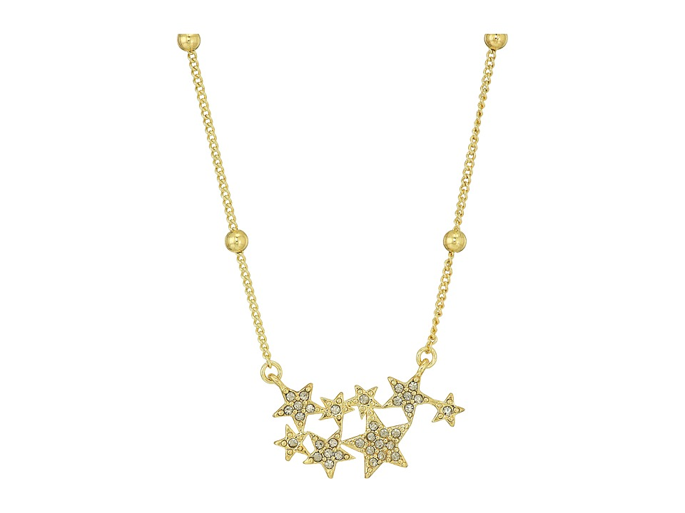 House of Harlow 1960 - Star Cluster Dainty Necklace (Gold) Necklace