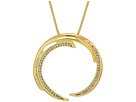 House of Harlow 1960 Wave Pendant Necklace