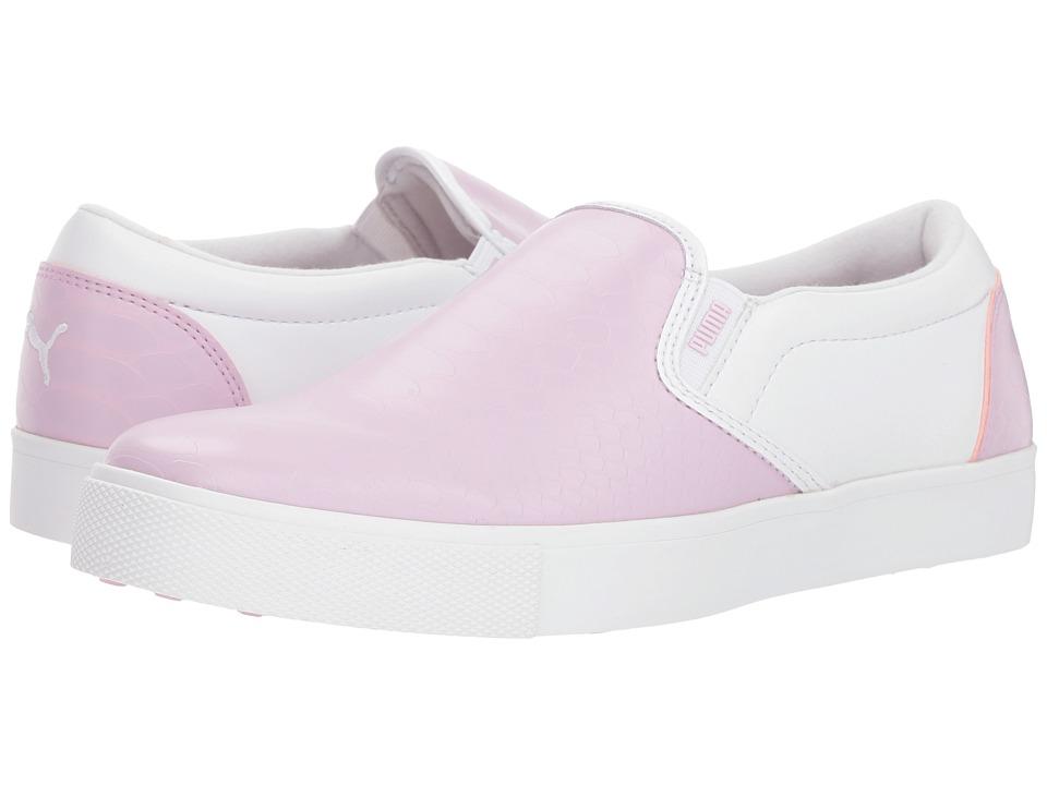 PUMA Golf Tustin Slip-On (Winsome Orchid/Puma White) Women's Shoes