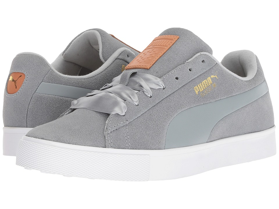 PUMA Golf Suede G (Quarry/Quarry) Women's Shoes