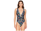 Lucky Brand Sunset Boulevard One-Piece Swimsuit