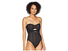 Kenneth Cole Off The Grid Bandeau Mio One-Piece Swimsuit