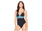 La Blanca La Blanca Running Stitch Over the Shoulder Mio One-Piece Swimsuit