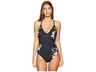 La Blanca La Blanca Dirty Martini Lingerie Lace Back Mio One-Piece Swimsuit