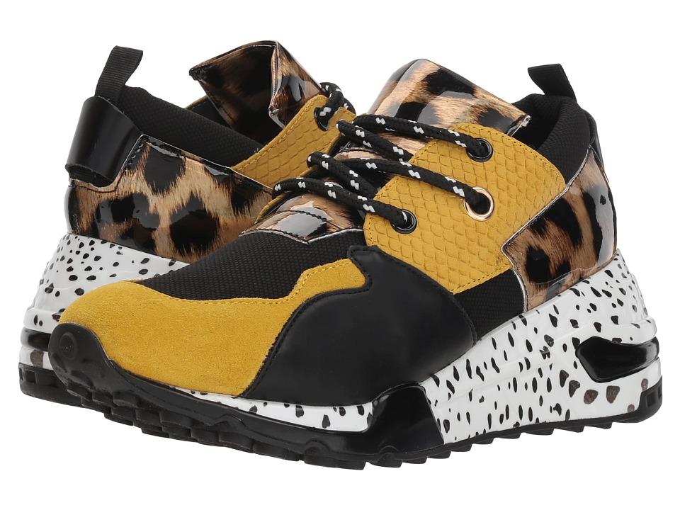 Steve Madden Cliff (Yellow Multi) Women's Shoes