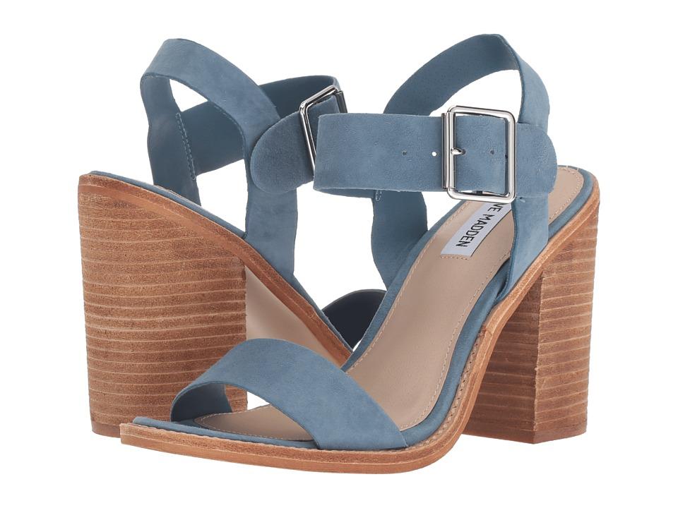 Steve Madden Castro (Blue Suede) Women's Shoes