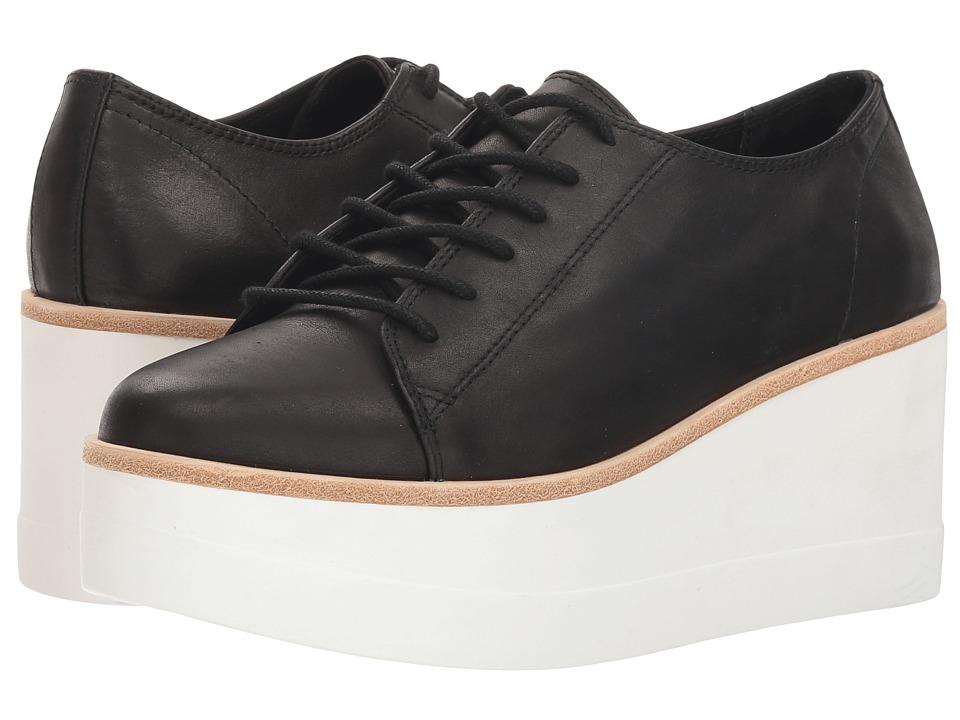 Steve Madden Kimber (Black Leather) Women's Shoes