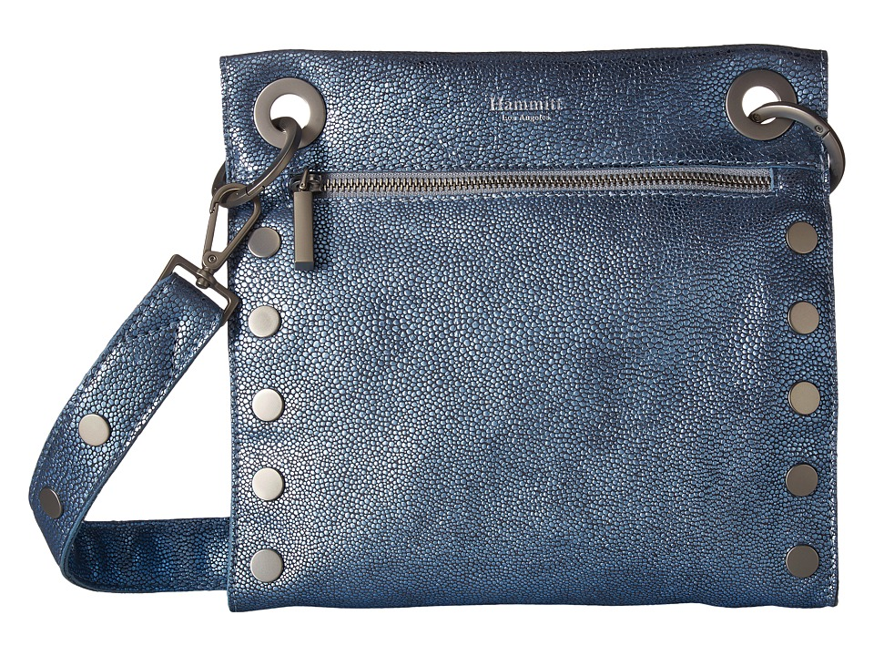 Hammitt - Tony Medium (Tower Sting/Brushed Silver) Handbags
