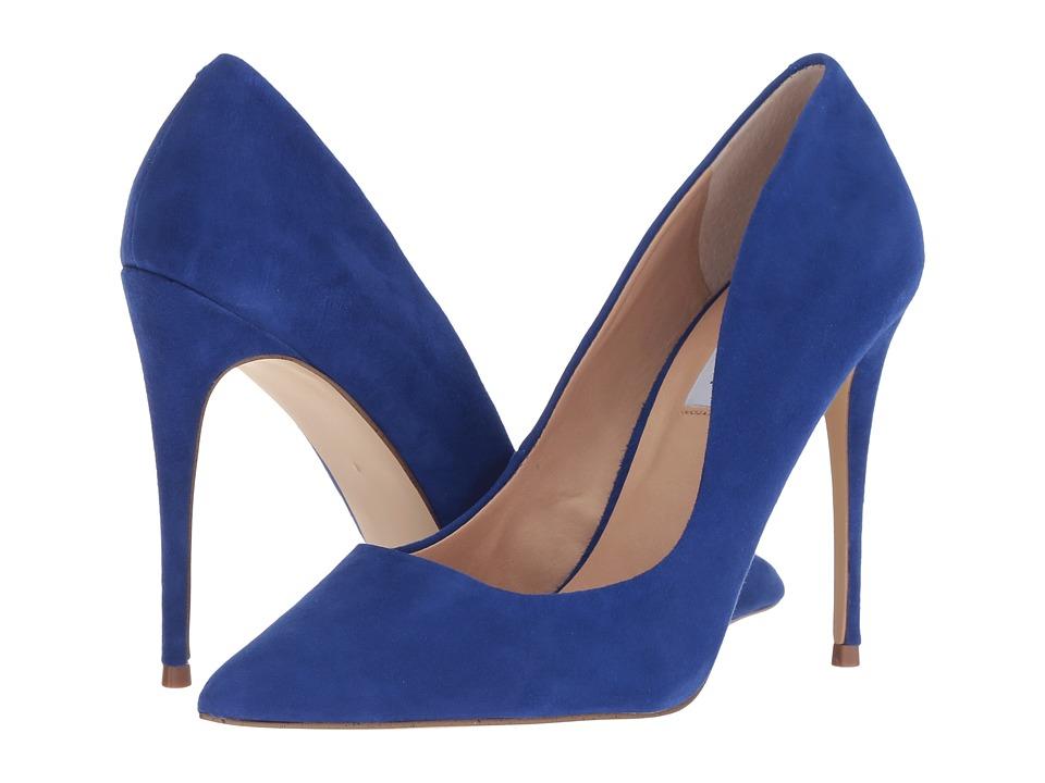 Steve Madden Daisie Pump (Blue Suede) Women's Shoes