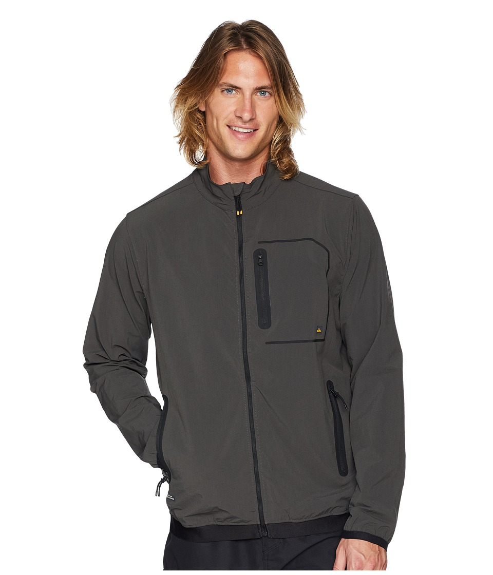 Quiksilver Waterman Technical Paddle Jacket (Dark Shadow) Men