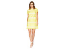 Tahari by ASL Tahari by ASL Short Sleeve Chemical Lace Sheath Dress