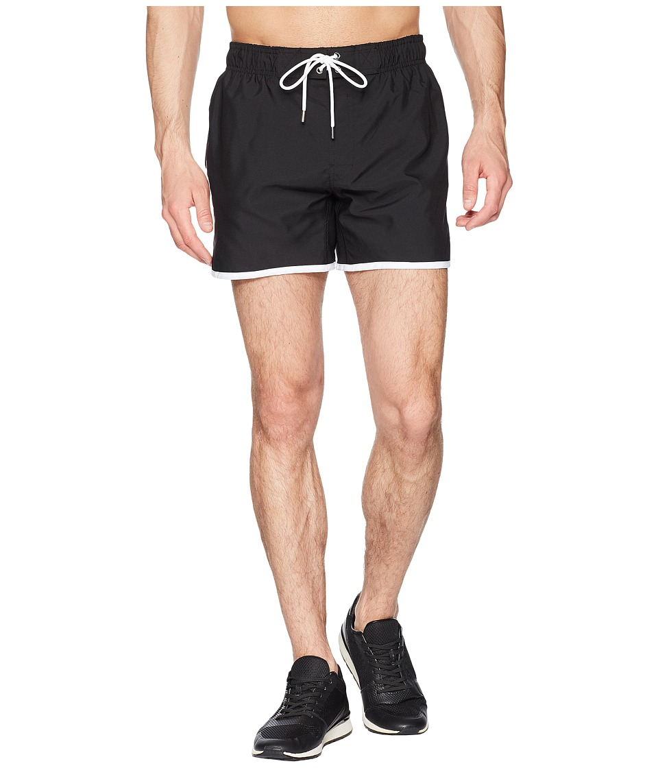 2(X)IST - Jogger (Black/White) Mens Swimwear