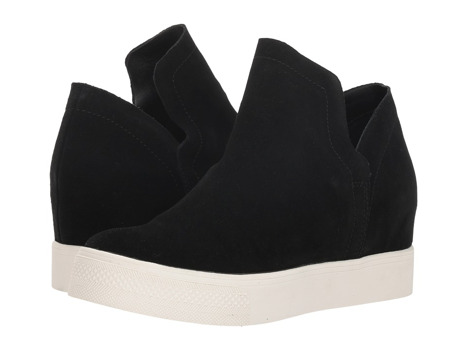 Steve Madden Wrangle (Black Suede) Women's Shoes