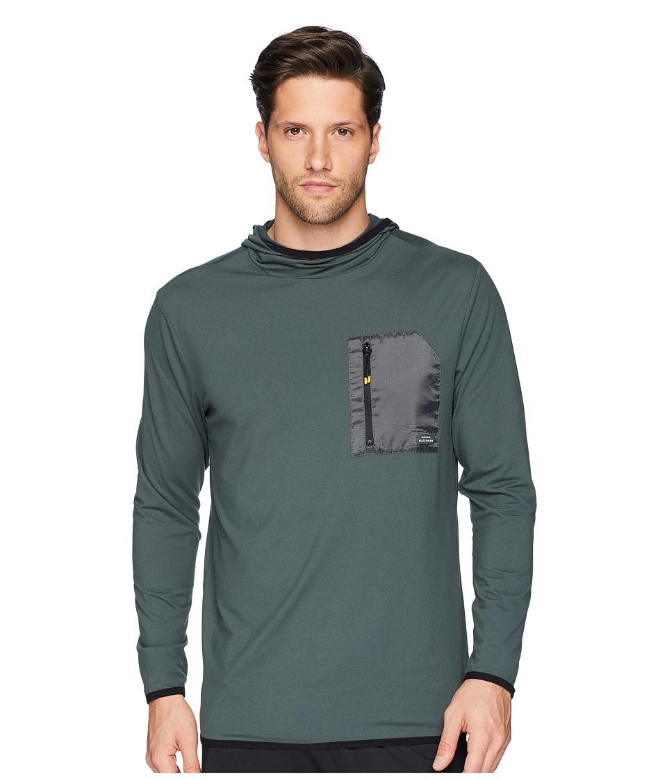 Quiksilver Waterman - Explorer Technical Hoodie (Urban Chic) Mens Sweatshirt