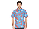 Quiksilver Waterman Floral Fireworks Shirt
