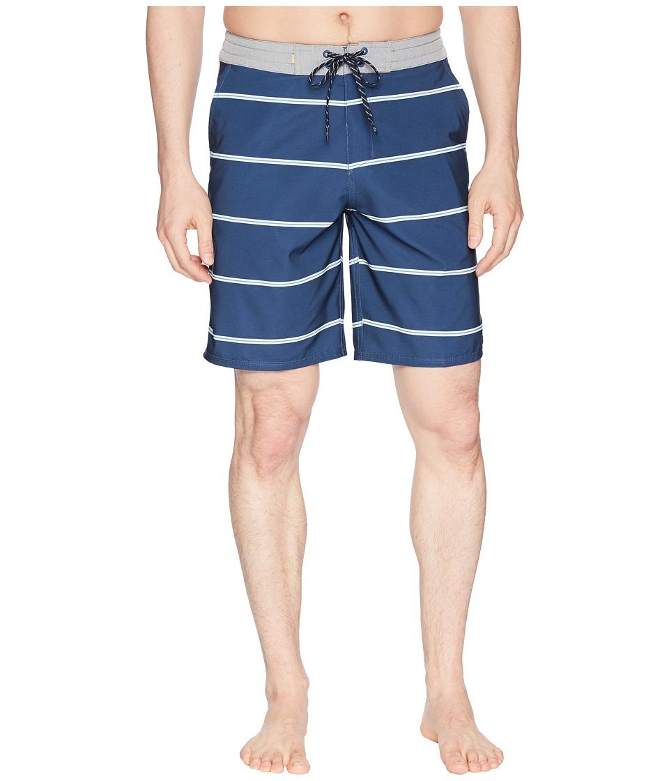 Quiksilver Waterman - Liberty Overboard Boardshorts (Dark Denim) Mens Swimwear
