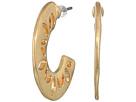 The Sak Pierced C Hoop Earrings