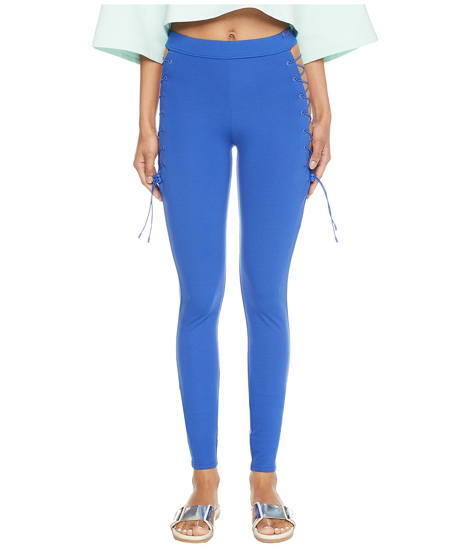 PUMA - Puma x Fenty by Rihanna Side Lace Leggings (Dazzling Blue) Womens Casual Pants