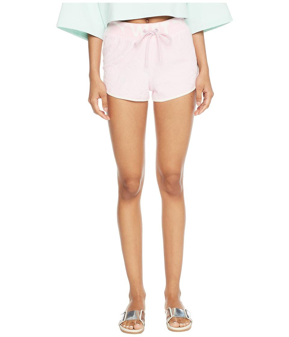 PUMA - Puma x Fenty by Rihanna Terrycloth Dolphin Shorts (Pink Lady) Womens Shorts