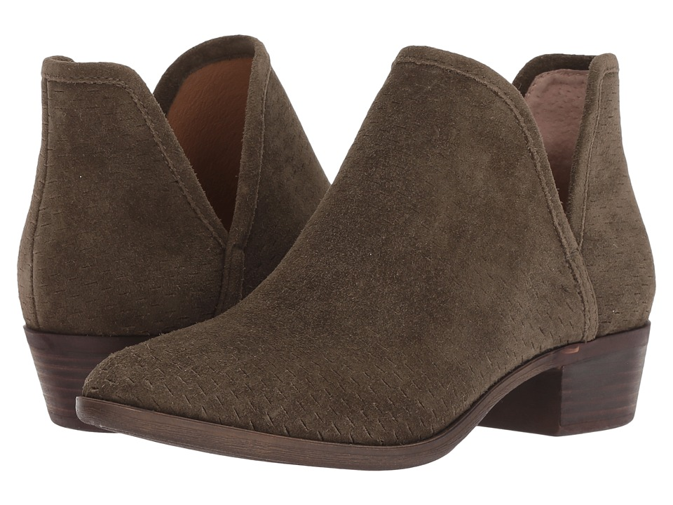 Lucky Brand Baley (Dark Olive Suede) Women's Shoes