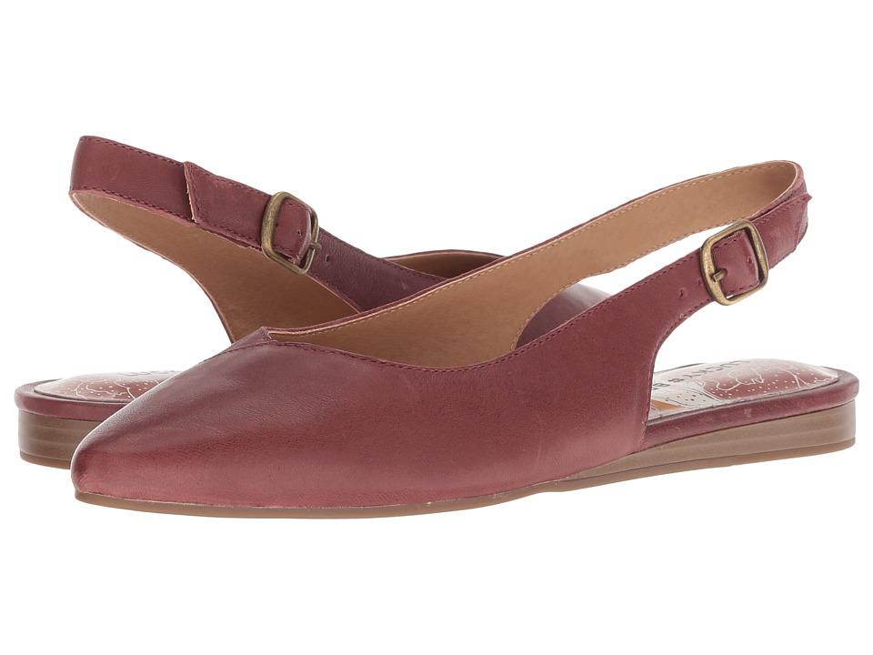 Lucky Brand Beratan (Burgundy Topnpa) Women's Shoes