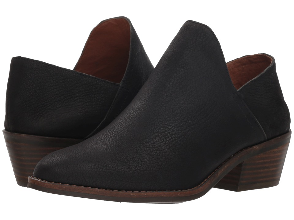 Lucky Brand Fausst (Black Leather) Women's Shoes