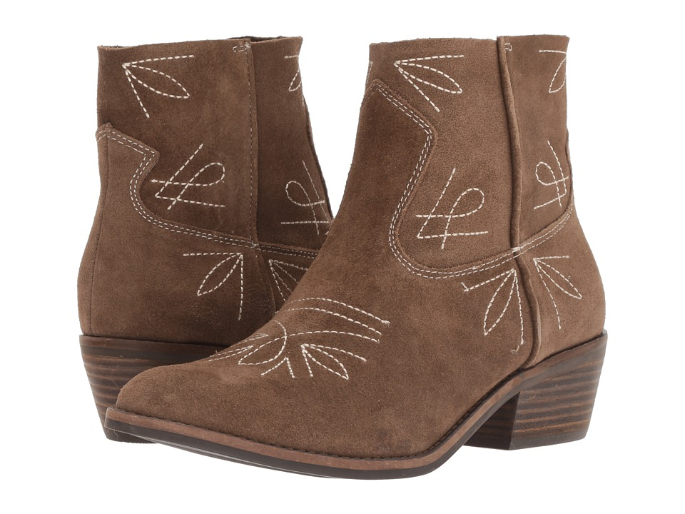 Lucky Brand Floriniah (Sesame/Taupe Oiled Suede) Women's Shoes