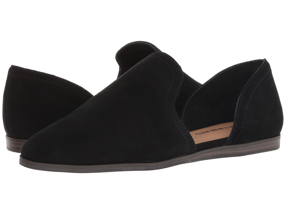 Lucky Brand Jinree (Black Oiled Suede) Women's Shoes