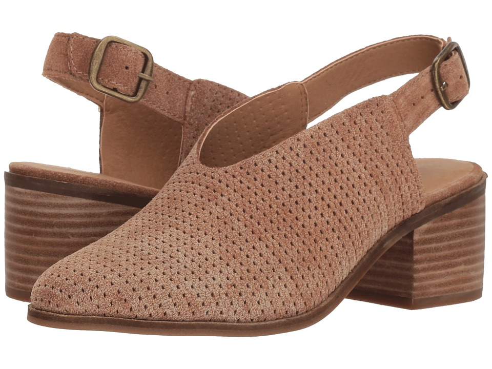 Lucky Brand Lideton (Macaroon Suede Leather) Women's Shoes