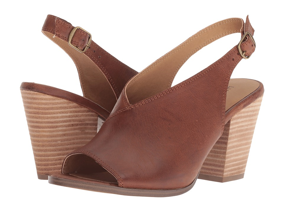 Lucky Brand Ovrandie (Toffee Leahter) Women's Shoes
