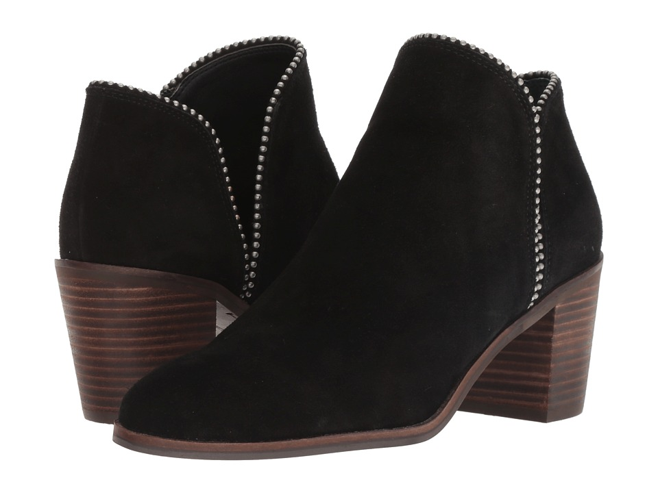 Lucky Brand Pincah (Black Oiled Suede) Women's Shoes