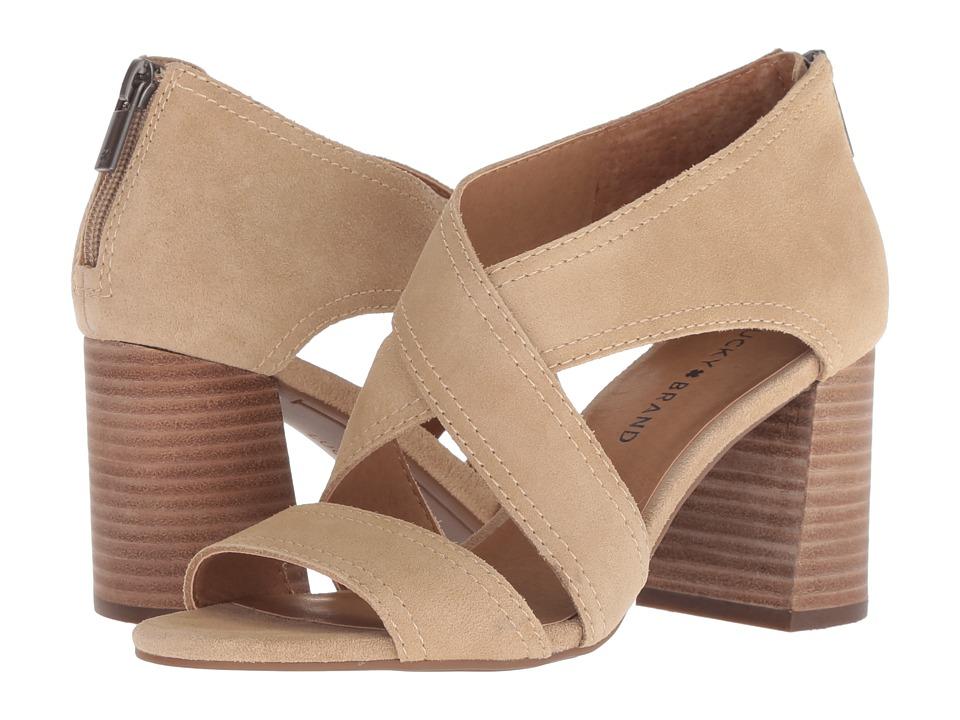 Lucky Brand Vidva (Travertine Oiled Suede) Women's Shoes