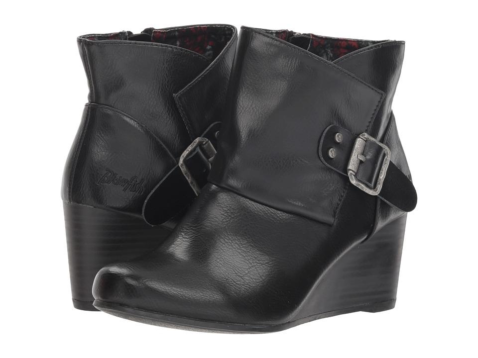Blowfish Baldwin (Black Tombstone PU) Women's Pull-on Boots