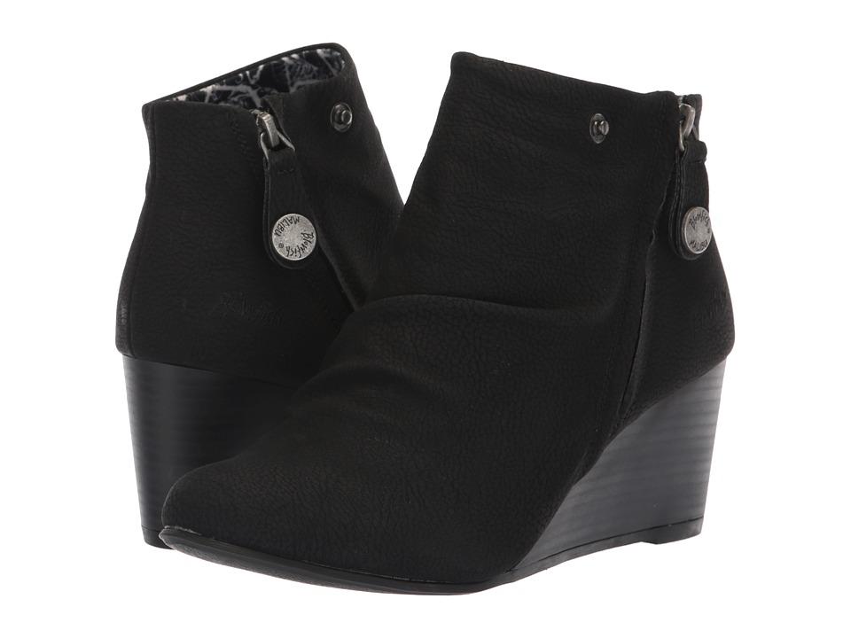 Blowfish Berkeley (Black Saddlerock PU) Women's Pull-on Boots