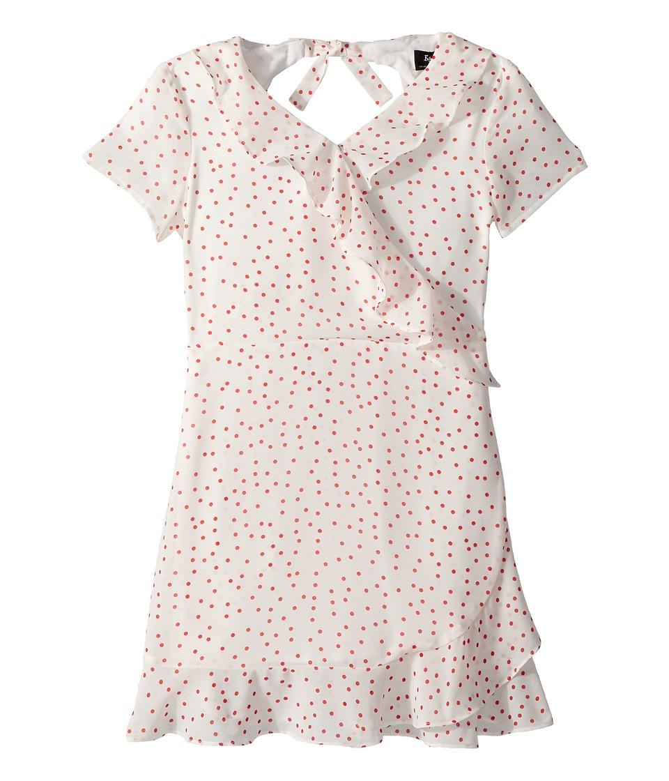 Bardot Junior - Allira Spot Dress (Big Kids) (White/Red Spot) Girls Dress