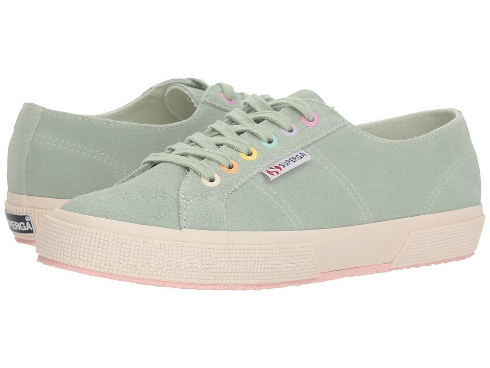 Superga - 2750 Suecotlinc Sneaker (Mint Multi) Womens Shoes